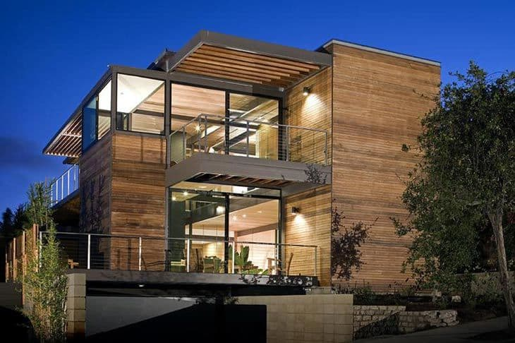 LivingHome in Santa Monica by architect Ray Kappe Photo courtesy Tom Bonner Photography
