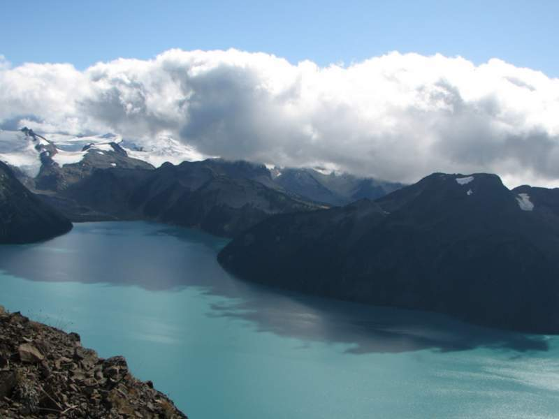 Mountains, lake and sky - Life cycle assessment - LCA