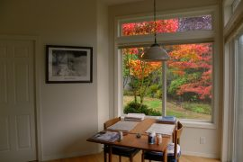 Transom window - Resource-efficient remodelling