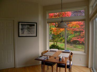 Transom window - Resource-efficient remodelling