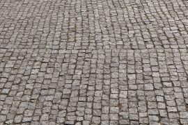 Cobblestone flooring - Recycled & healthy