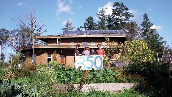 Cob home in Victoria, BC
