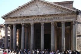 Roman Pantheon - Durable and sustainable concrete
