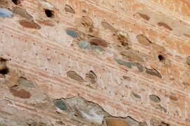 Rammed earth wall - Rammed earth