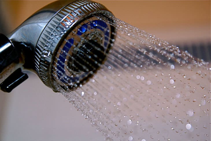 low flow shower head