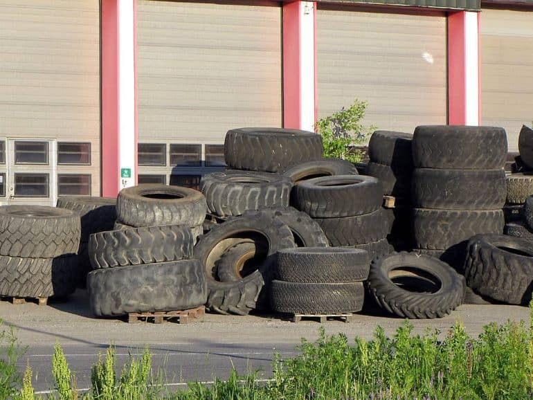 How To Make Rubber Shingles Out Of Old Tires Green Home