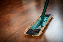 Green mop cleaning wood floor - Q&A with George Younan of Bendable Solutions