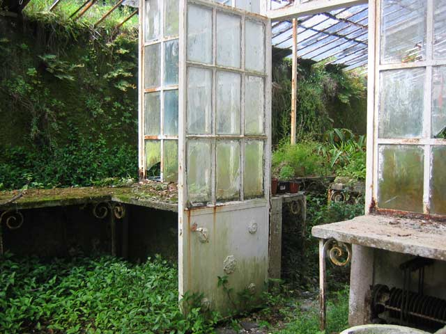 Rundown greenhouse