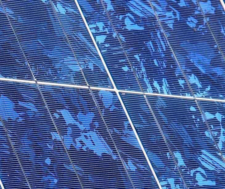 Solar cell - silicon