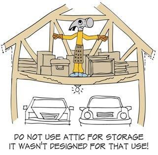 attic and storage