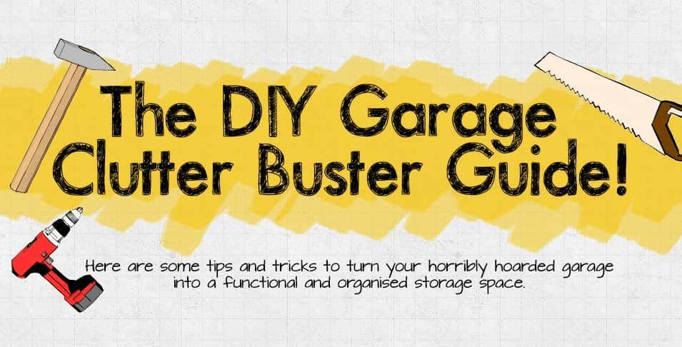 DIY Guide to garage organization systems and garage storage ideas