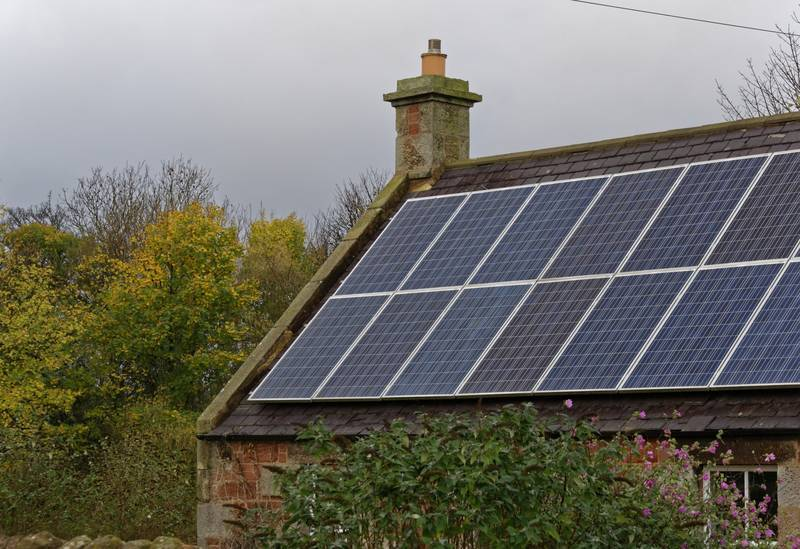 Rooftop with solar panels - How to power your home