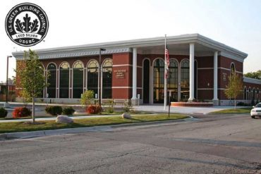 Eisenhower Public Library in Harwood Heights, Illinois - Five ways to promote investment in energy efficient buildings