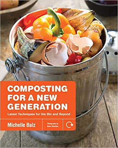 Front cover of Composting For a New Generation - 7 tips for starting a shared composting area with neighbours