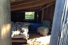 Home at Dancing Rabbit Ecovillage - A home made solely of local or reclaimed materials