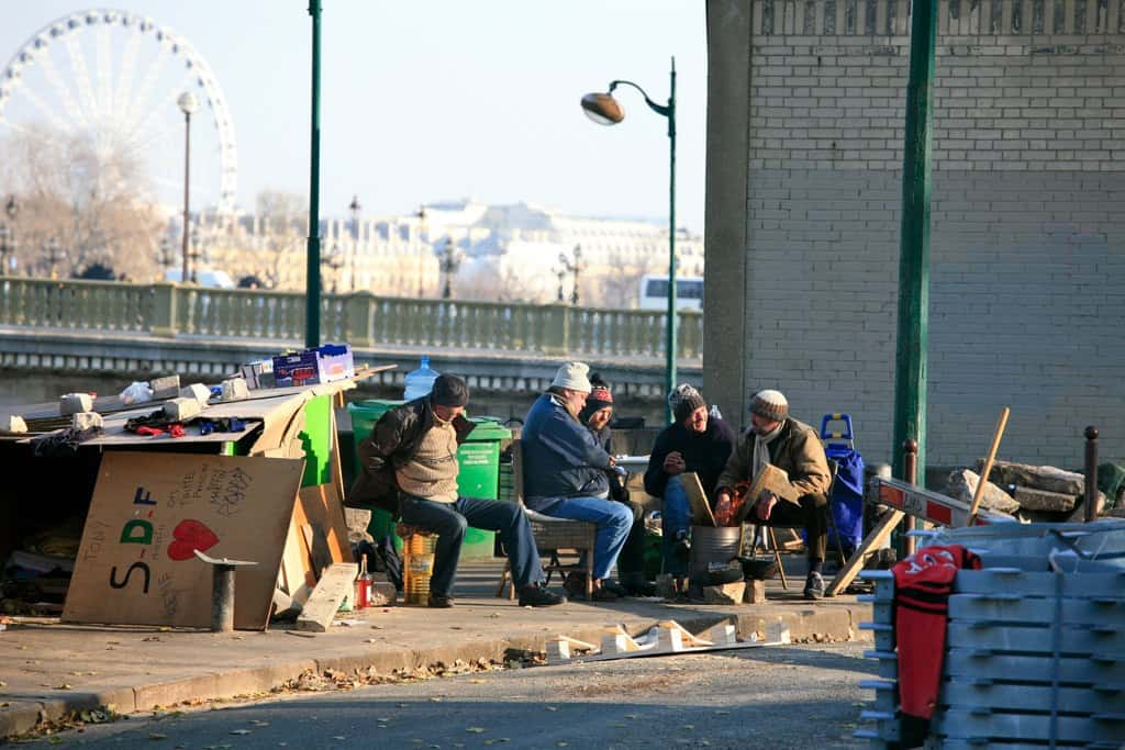 Homeless people in Sydney, Australia - The future is prefabricated