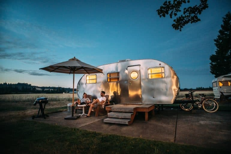 Transportable trailer-style home. Photo from Blake Wisz via Unsplash.