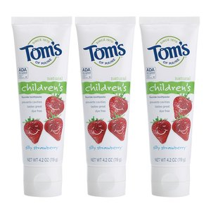 tom's of maine anticavity fluoride children's toothpaste - healthiest and best toothpastes for children